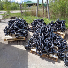 Chaîne d'ancrage à vis noire peinte en Chine