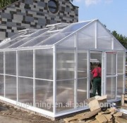 Outdoor polycarbonate expand farming growing greenhouse equipment