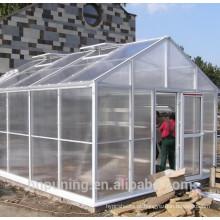 O policarbonato ao ar livre amplia o cultivo de equipamentos de estufa