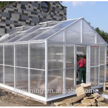 El policarbonato al aire libre amplía el cultivar que crece el equipo del invernadero