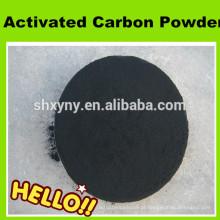 Alto carbono de metileno Carvão ativado em pó de madeira para remoção de cor