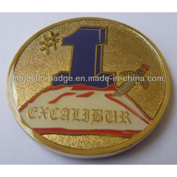 Gold Plating & Epola Customized Coin