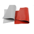 High temperature silicone coated fiberglass fire blanket