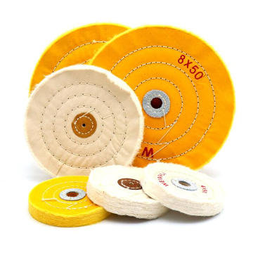 Professional cloth cotton buffing pad for jeweler