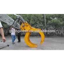 Abrazadera para granel hidráulico para excavadora