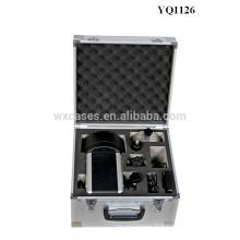 Foshan aluminium solide instrument cas avec mousse personnalisé introduire