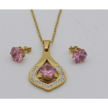 Ladies Necklace And Earring  Crystal Jewelry sets