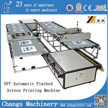 Spt Series Automatic Platen Multi-Color Printer