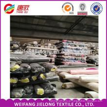 Atacado barato estoque TC popeline tecido T / C 45X45 110x76 tecido estoque tc popeline atacado popeline de algodão tecido