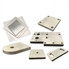 Custom Cheap Stamping 1.5 mm Stainless Steel Baseplate Rectangle Plate