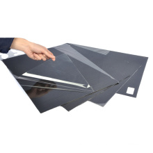 Perforated thermoplastic plastic carbon fiber sheet