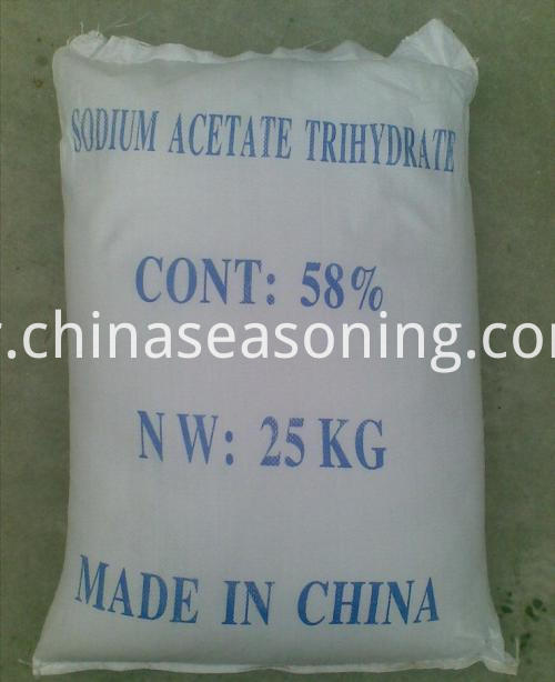sodium acetate bag