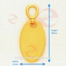 Circle Zipper Puller / Slider mit individuellem Logo