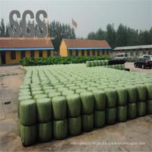 Película plástica branca / verde / preta do envoltório da ensilagem da agricultura