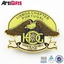 Zinc alloy metal military insignia school crest school emblem