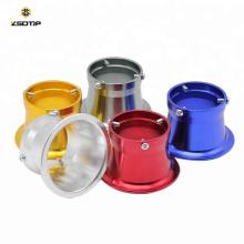 50mm 7 couleurs Moto Filtre à air carburateur modifié Coupe Le vent coupe corne Coupe Fit Kei PWK OK KSO Carburateur