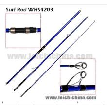 100-225g 3.3diameter's Tip Action rapide carbone Surf Casting canne à pêche
