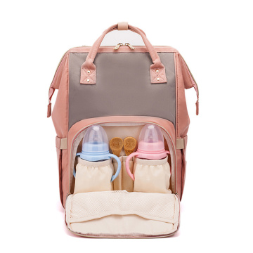 Travel Diaper Backpack Nappy Väskor för Barnomsorg