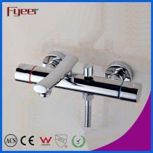 다 이터 (QR7801T)와 Fyeer 더블 핸들 목욕 샤워 믹서