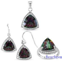 Fashion Mystic Quartz Jewellery Set (S1271)