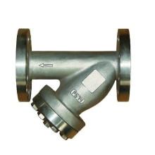Filtro en forma de Y con brida de acero inoxidable Pn16