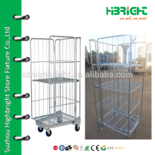 rust free steel logistic cart