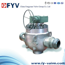 Top Entry Trunnion Mounted Ball Valve with Gearbox