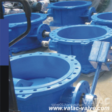 Cast Steel RF Flanged Butterfly Check Valve with Counter Weight