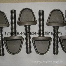 Parafuso / parafusos de aço personalizados do tamanho do desenho com fazer à máquina do CNC