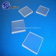 Janela de vidro de safira óptica de revestimento AR