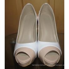2016 Fashion Peep Toe High Heel Dress Shoes (HCY02-1674)