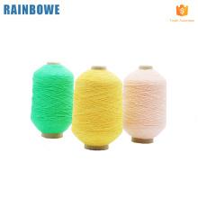 Fornecimento de fábrica china fabricante de borracha coberta de fios de spandex para fazer meias