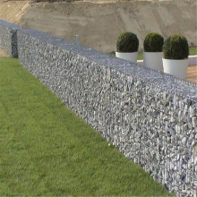 Galvanized stone retaining basket