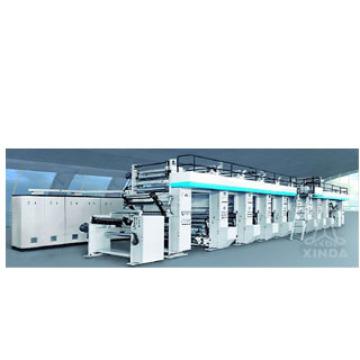 Machine d'impression par héliogravure avec max. Vitesse d'impression de 200 m / min