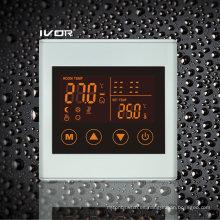 Termostato de calefacción por suelo radiante interruptor marco de plástico (SK-HV2300L8-L)