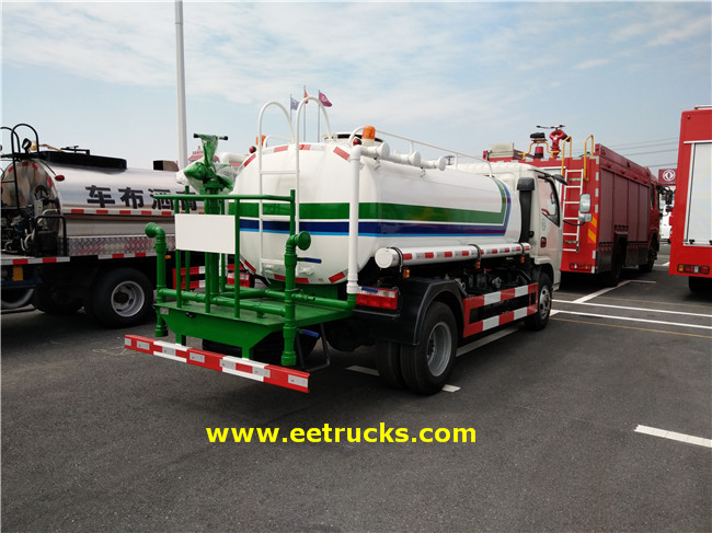 Water Tanker Vehicles