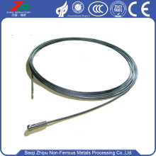 China Factories for Dia 2.5 Tungsten Rope Dia2.0 Tungsten wire rope for vacuum furnace export to China Manufacturer