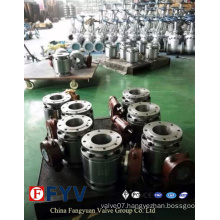 API 6D Metal to Metal Seated Trunnion Ball Valve