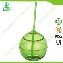500 Ml BPA-Free as Ball-Shape Straw Cup (TB-A5)