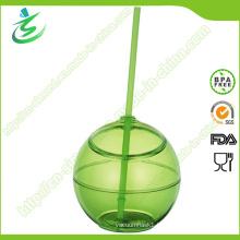 500 Ml BPA-Free as Ball-Shape Straw Cup (TB-A5)