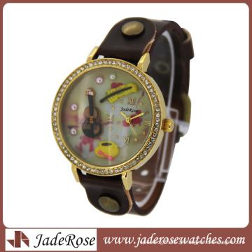 A mais alta qualidade e tempo de entrega rápida Polymer Clay 3D Mini Watch