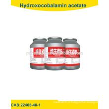 Polvo de acetato de hidroxocobalamina de alta qualidade / 22465-48-1 USP