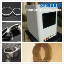 Машина маркировки волокна Syngood SG10F / 20F / 30F для гравировки фотографии собаки