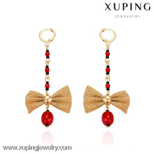 29374 xuping 18k plaqué or bijoux fantaisie gros droping boucle d'oreille