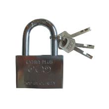 Cadenas de sécurité à clé en acier