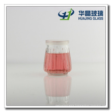 100ml Wide Mouth Mini Pudding Glass Milk Bottles