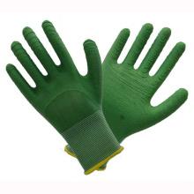 Green 13t Latex Arbeitshandschuhe