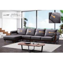Офисный кожаный диван для отдыха