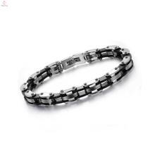 Top vendendo pulseira gravada, pulseiras de aço inoxidável, pulseira da amizade