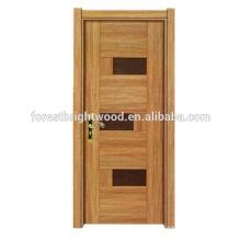 Moda projeta interior porta de madeira de Stile de melamina